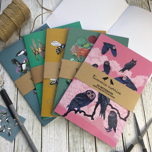 Tammie Norries | Set of A5 Notebooks