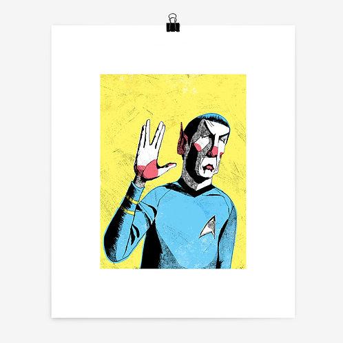 Alexander Jackson   Spock Print