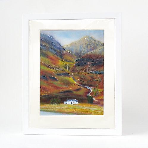 Scottish Island Art | Glencoe Cottage Print