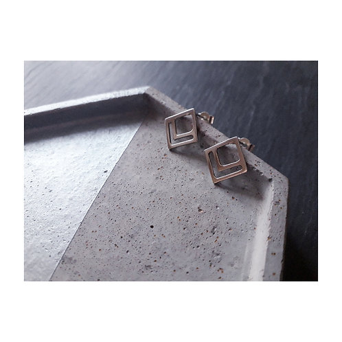 Pop Up Jewellery | Square Studs