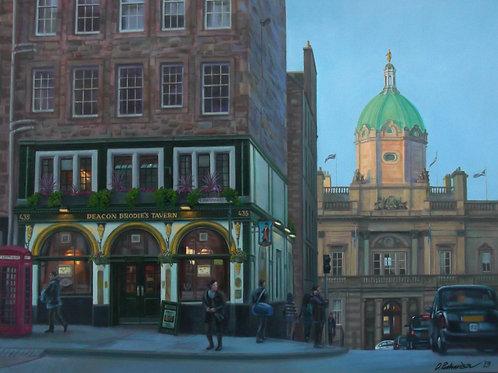David Richardson Artworks | Deacon Brodie's Tavern, Edinburgh Print