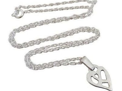Sheila Kerr | Small Silver Heart Pendant