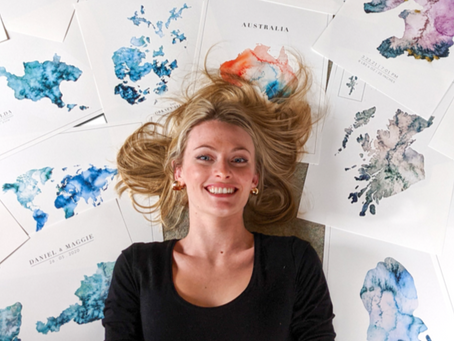 Born & Raised in the Outer-Hebrides, Eilidh creates Maps that Evoke a Feeling of Her Home