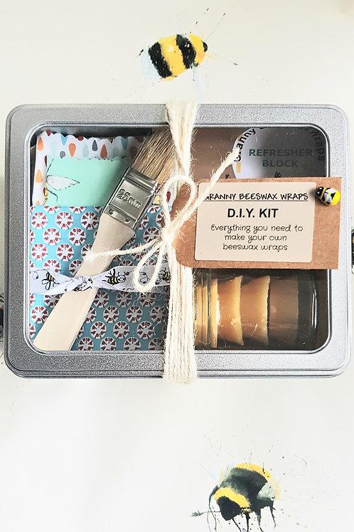 Granny Beeswax Wraps | DIY Wrap Kit