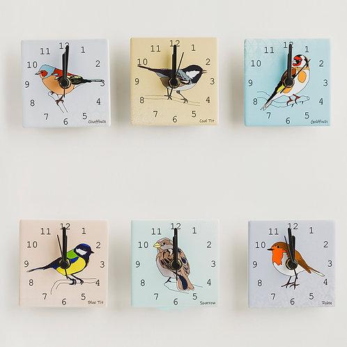 Dibujo Design   Mini Clocks – Garden Birds