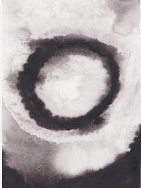 Debris II, 21x29.7cm ink on paper