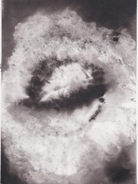 Supernova XVI, 21x29.7cm ink on paper