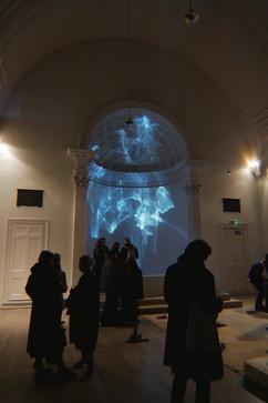 'New Light' at The Swiss Church, London. 2020