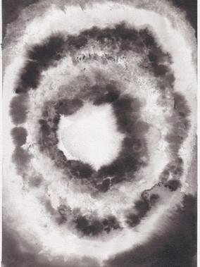 Supernova XIV, 21x29.7cm ink on paper