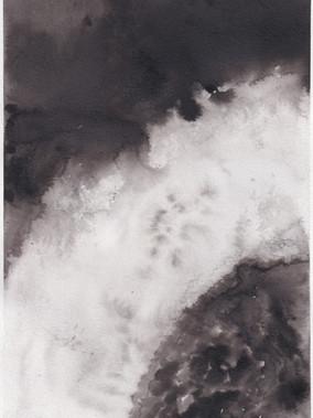 Chromosphere I, 21x29.7cm ink on paper