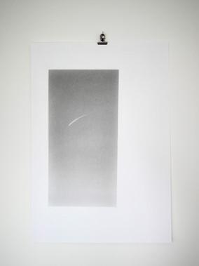 Star Thread, 15x29cm graphite on 29.7x42cm fine art paper