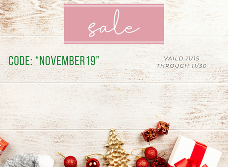The Holiday Sale Is Here!