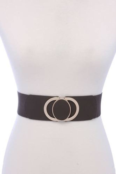 Leather Elastic Belt