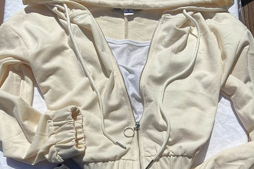 """""""Ava"""" Cropped Hoodie"""