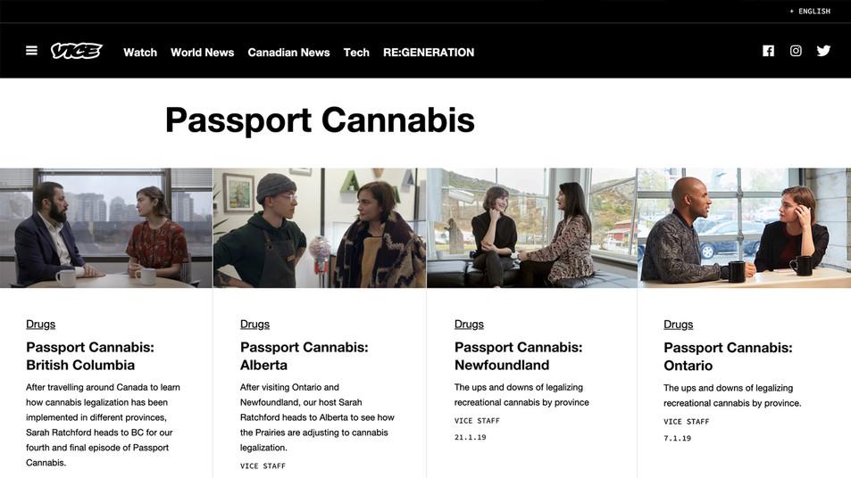 PASSPORT CANNABIS | VICE