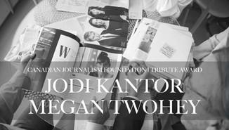 JODI KANTOR + MEGAN TWOHEY