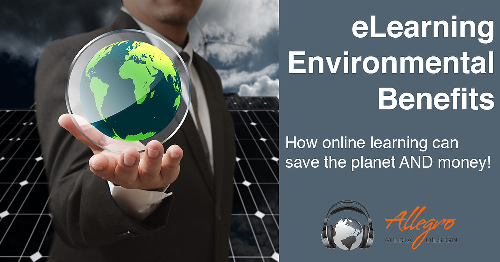 eLearning Environmental Benefits