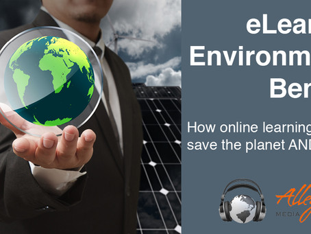 Earth Day: eLearning Environmental Benefits