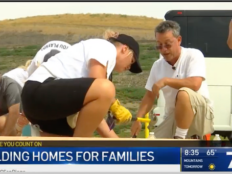 106 leaders from around the world gather to build homes in San Diego.
