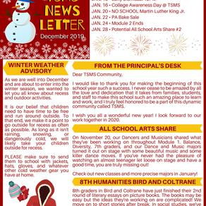 TSMS Newsletter December 2019
