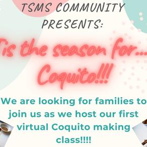 Virtual Coquito Making Class! December 21 @ 5pm!
