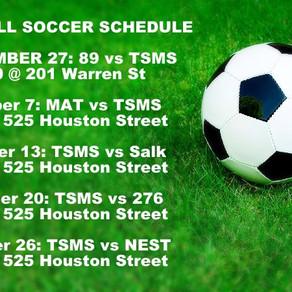 TSMS Newsletter: September 27, 2016