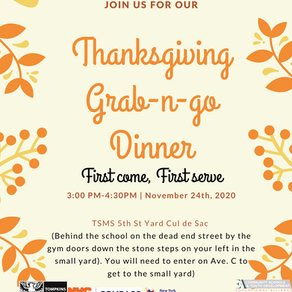 November 24! FREE Thanksgiving Grab-n-Go Meals from Educational Alliance!