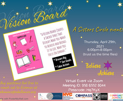 Sister Circle #2 Vision Board! - What Are Your 2021-2022 Goals?!