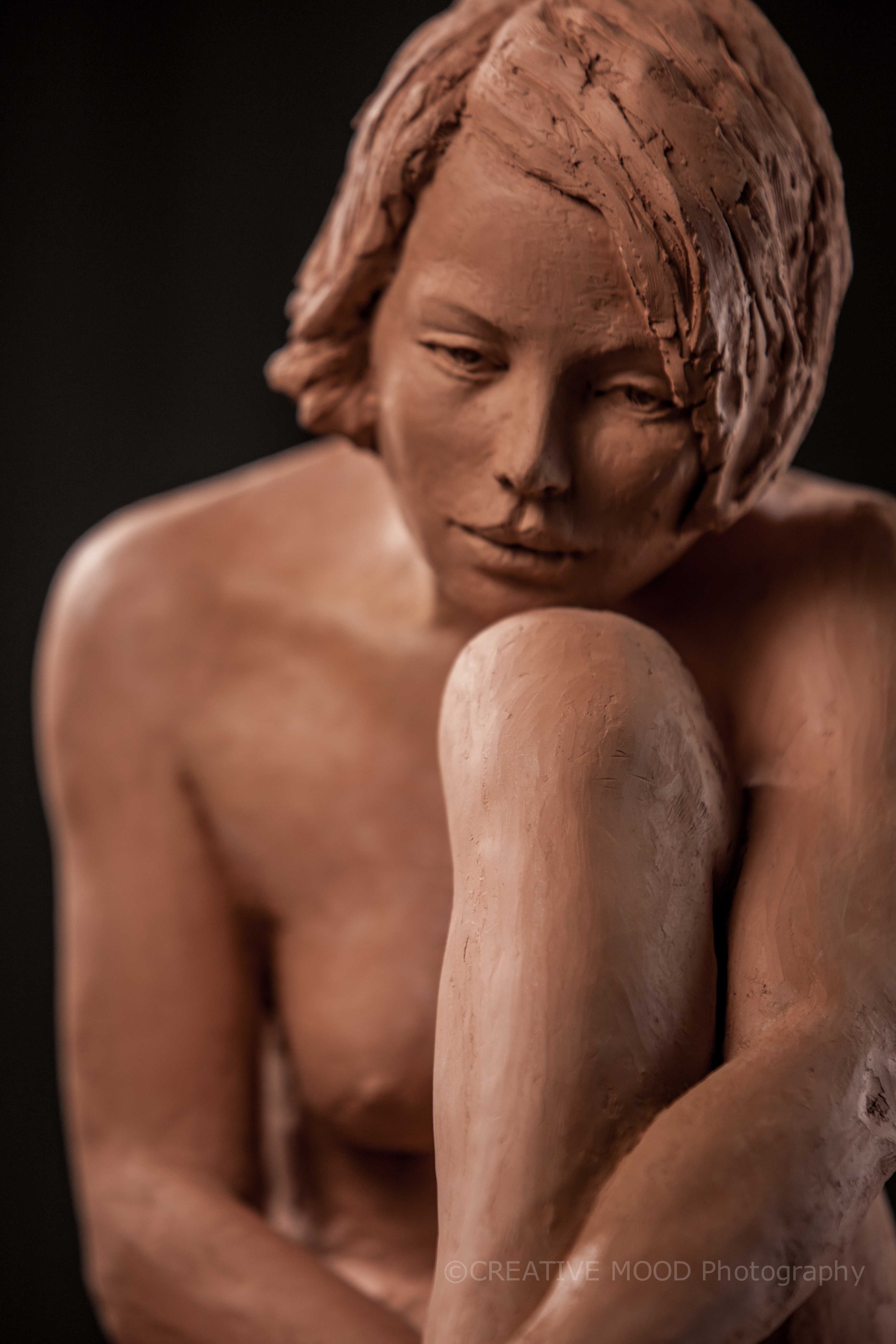 scultura Gabriella corso di modellato roma-10