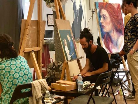 Pittura, tecnica e creatività