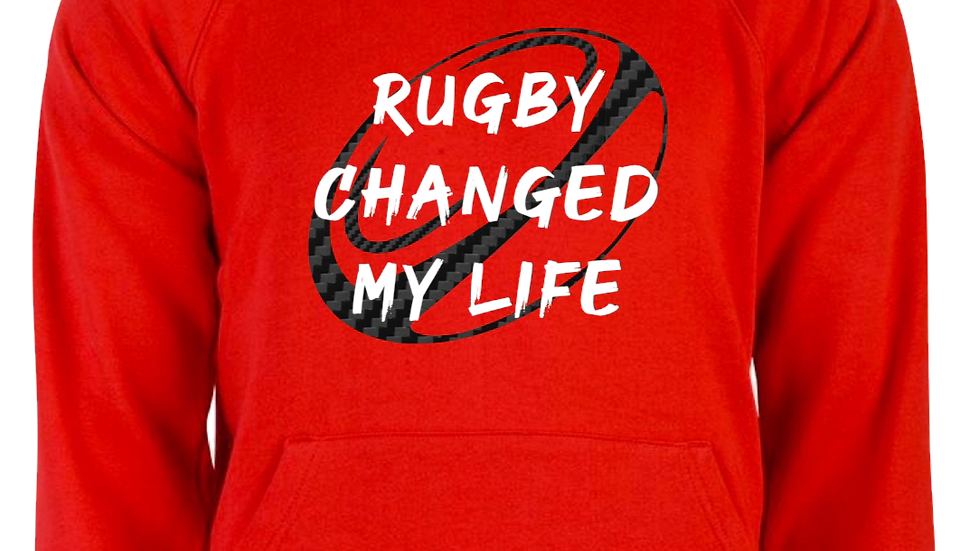 Rugby Changed My Life Hoodie