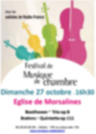 Festival 2019 concert Morsalines 27 octo