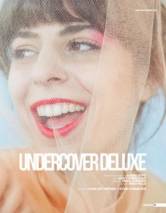 """Undercover Deluxe"" Period Magazine Editorial"