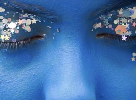 A blue alien