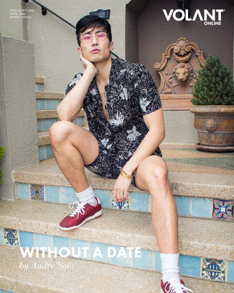 """""""Without a Date"""" Volant Magazine Editorial"""