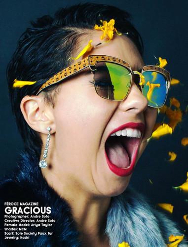 Feroce Magazine Cover Feature