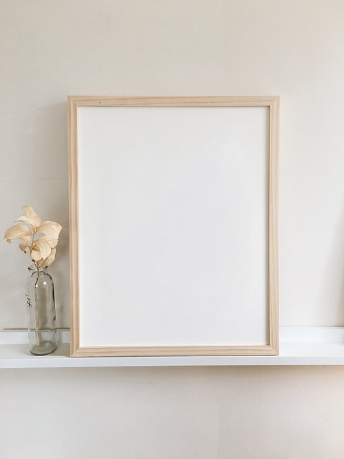 12 x 15 in. Natural Wood Frame (ADD TO ORDER)