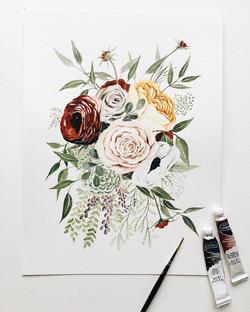 Wedding Bouquet Commission