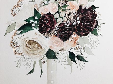 Wedding Bouquet for Sadie