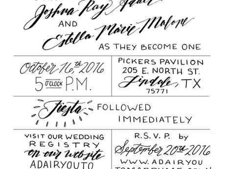 Watercolor Cactus Wedding Invitations for Stella & Josh