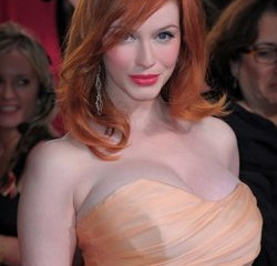 Christina Hendricks a Blonde UK Watchdog Says Nice N' Easy Not So Fast