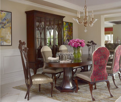 Wood Wall Panels and Crown Molding