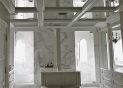 Custom Cabinetry/Coffered Ceiling
