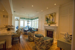 Fireplace Mantle/Built-In Furniture