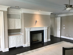 Custom Cabinetry/Fireplace Surround