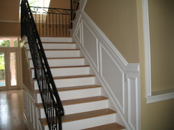 Staircase Wood Wall Panels