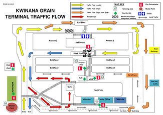 CBH KWINANA MAP