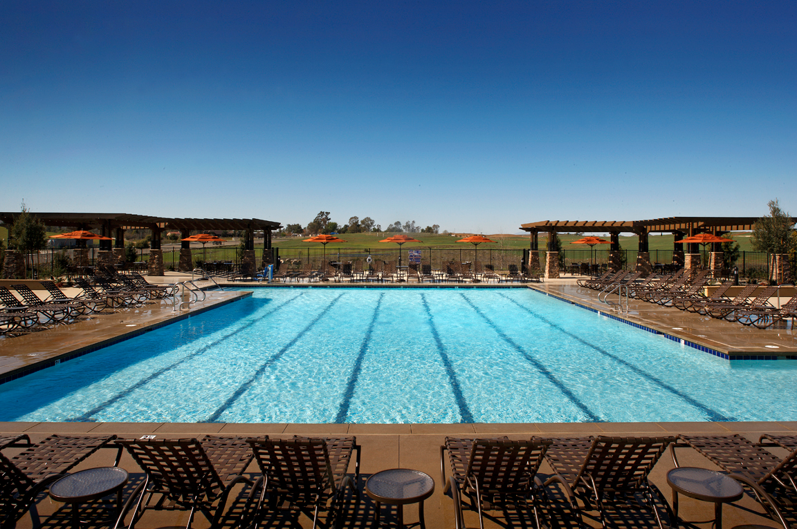 Olympic size community pool