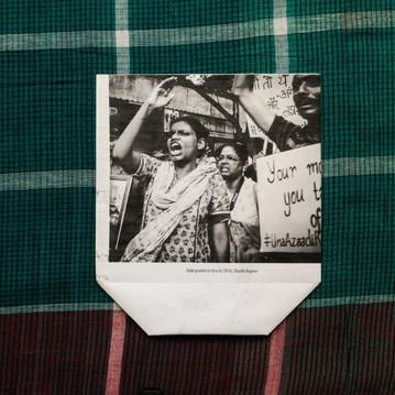 Dalit protest in Una, 2016/ Shuchi Kapoor