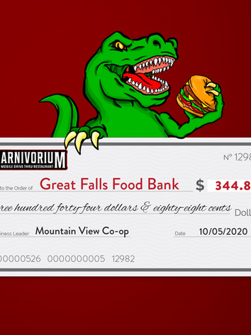 Mountain View Co-op charity of choice Great Falls Food Bank